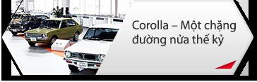 Corolla – Một chặng đường nửa thế kỷ