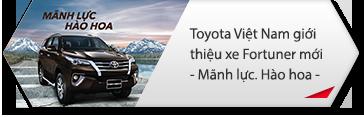 Toyota giới thiệu mẫu xe Fortuner thế hệ đột phá 2017 – Mãnh lực, Hào Hoa