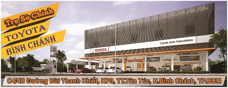Toyota An Thành khuyến mãi, tặng gói phụ kiện cao cấp