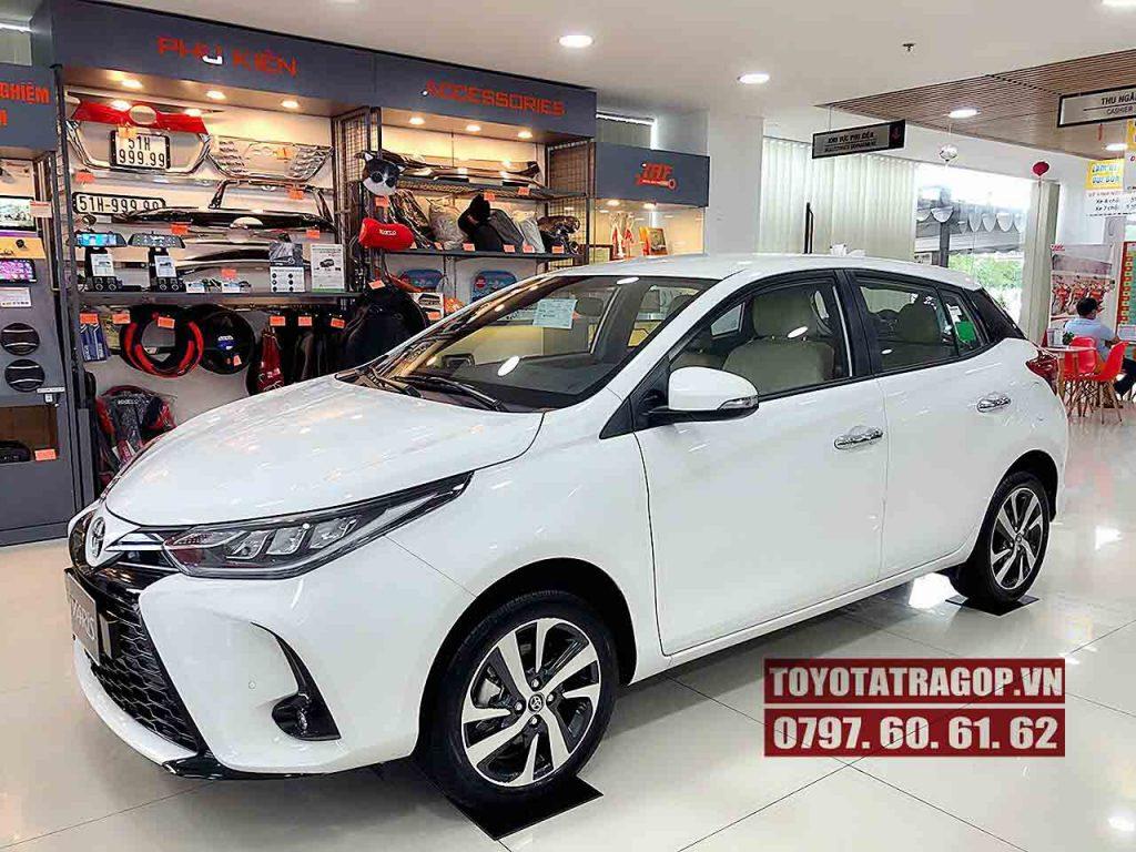 lãi suất mua xe Toyota Yaris trả góp